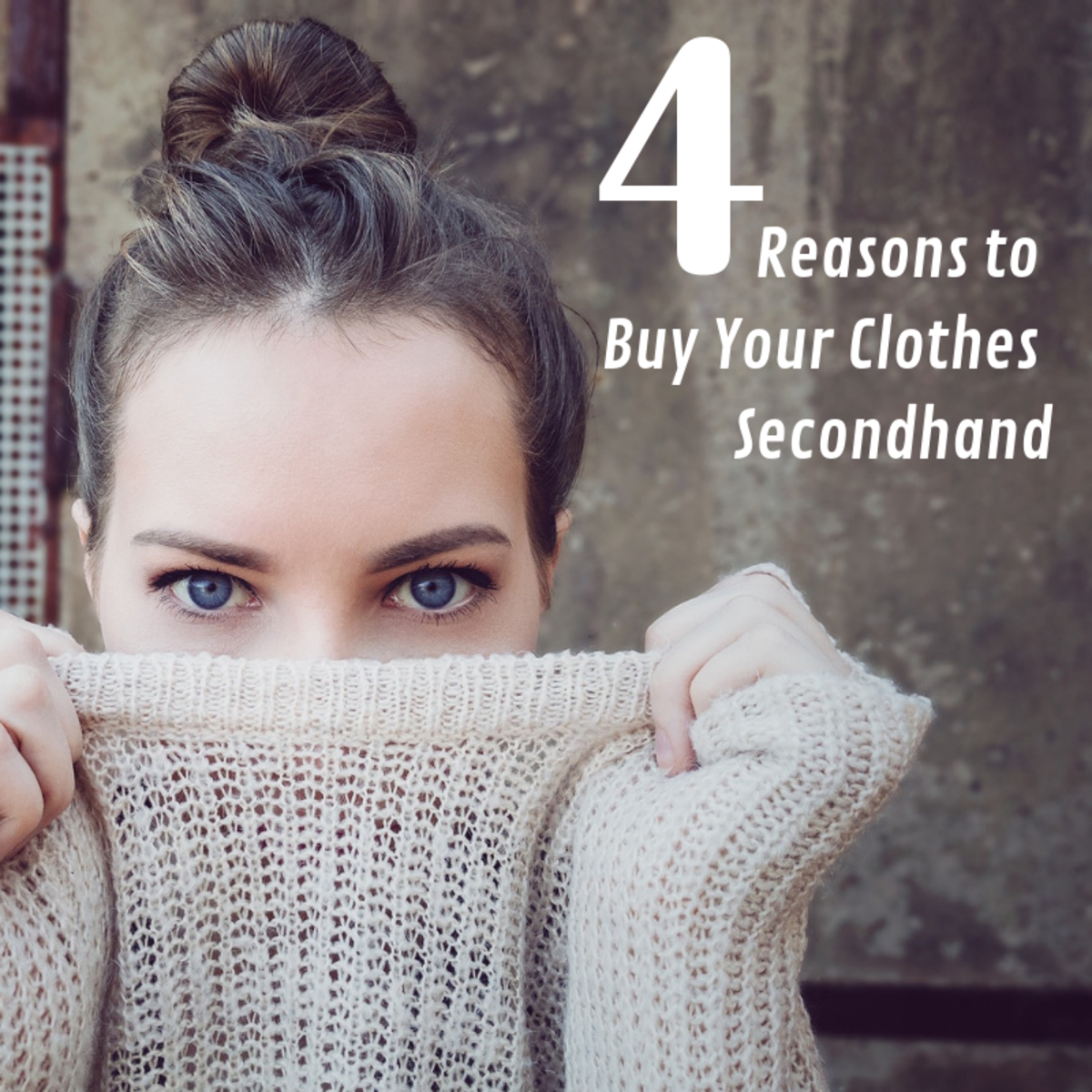 Buying clothes secondhand has some major advantages.