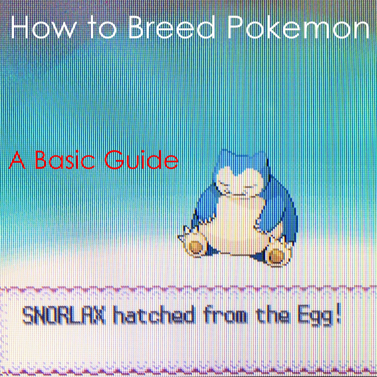 How to Breed Pokémon in the Pokémon Games