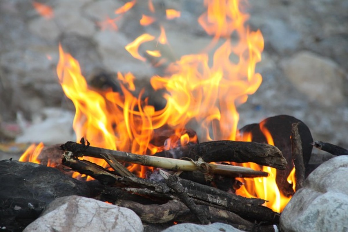 Camping:  Teach Kids to Build Campfires Safely at Home