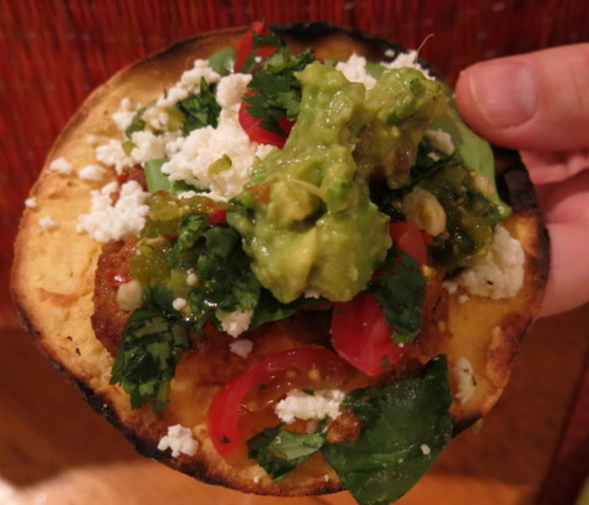 Healthy Mexican Recipe - Easy Grilled Tostadas