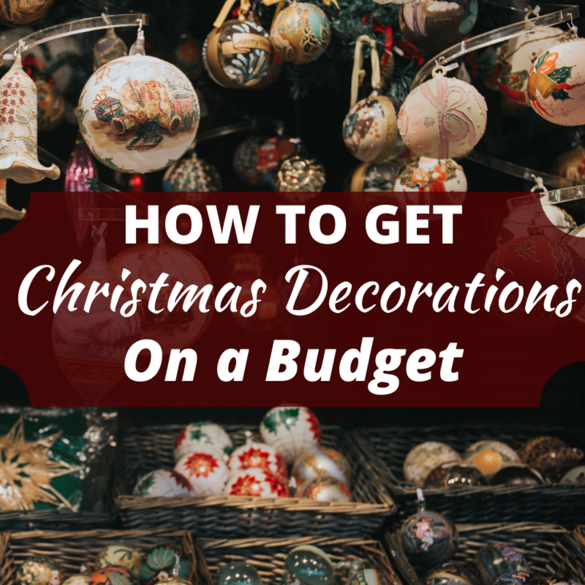 Find out how to get your place looking festive without draining your bank account.