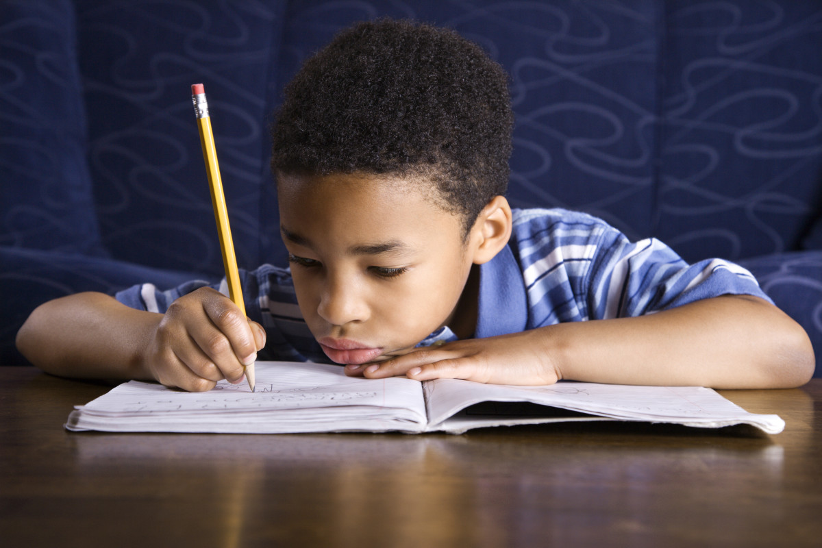 Working on an in-class study assignment allows teachers to observe the study habits of pupils.