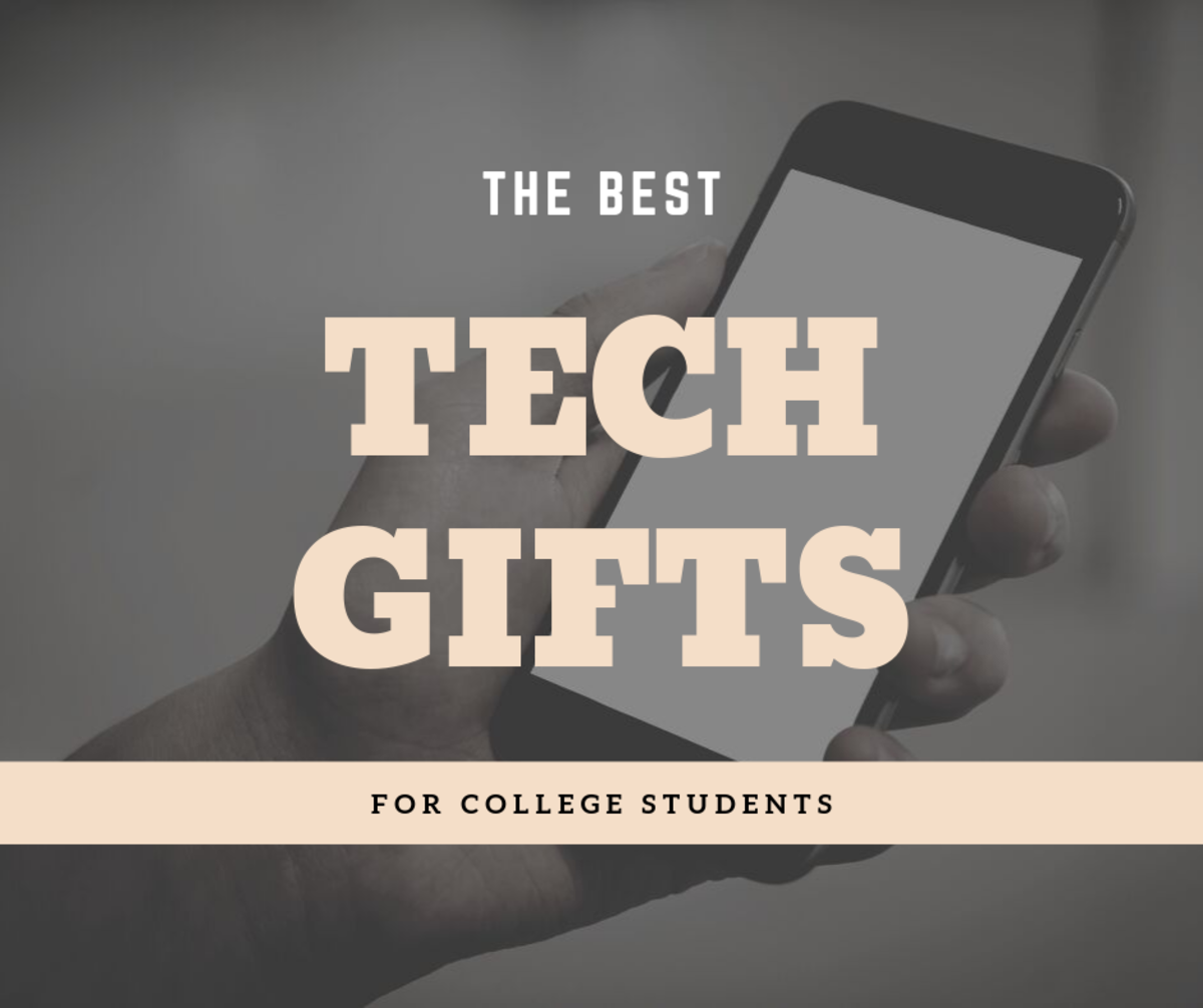Do you need to find a gift for the college student in your life? If so, you can't go wrong with tech!