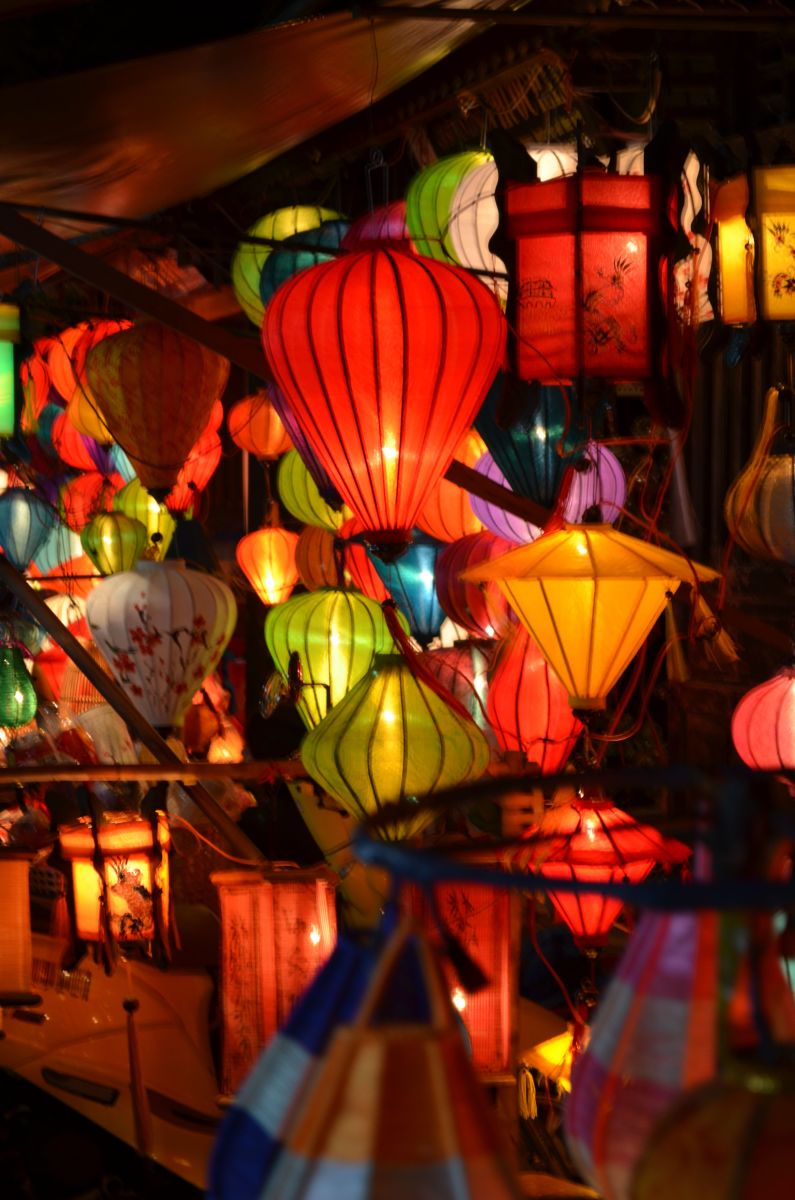 The lanterns of Hoi An © A Harrison