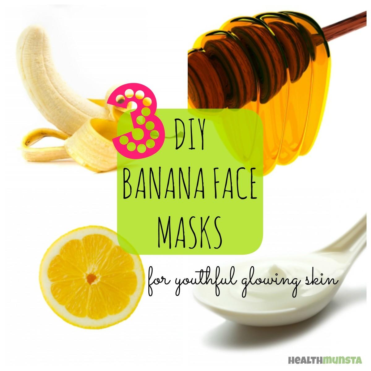 DIY: Banana Face Mask Recipes for Radiant Skin
