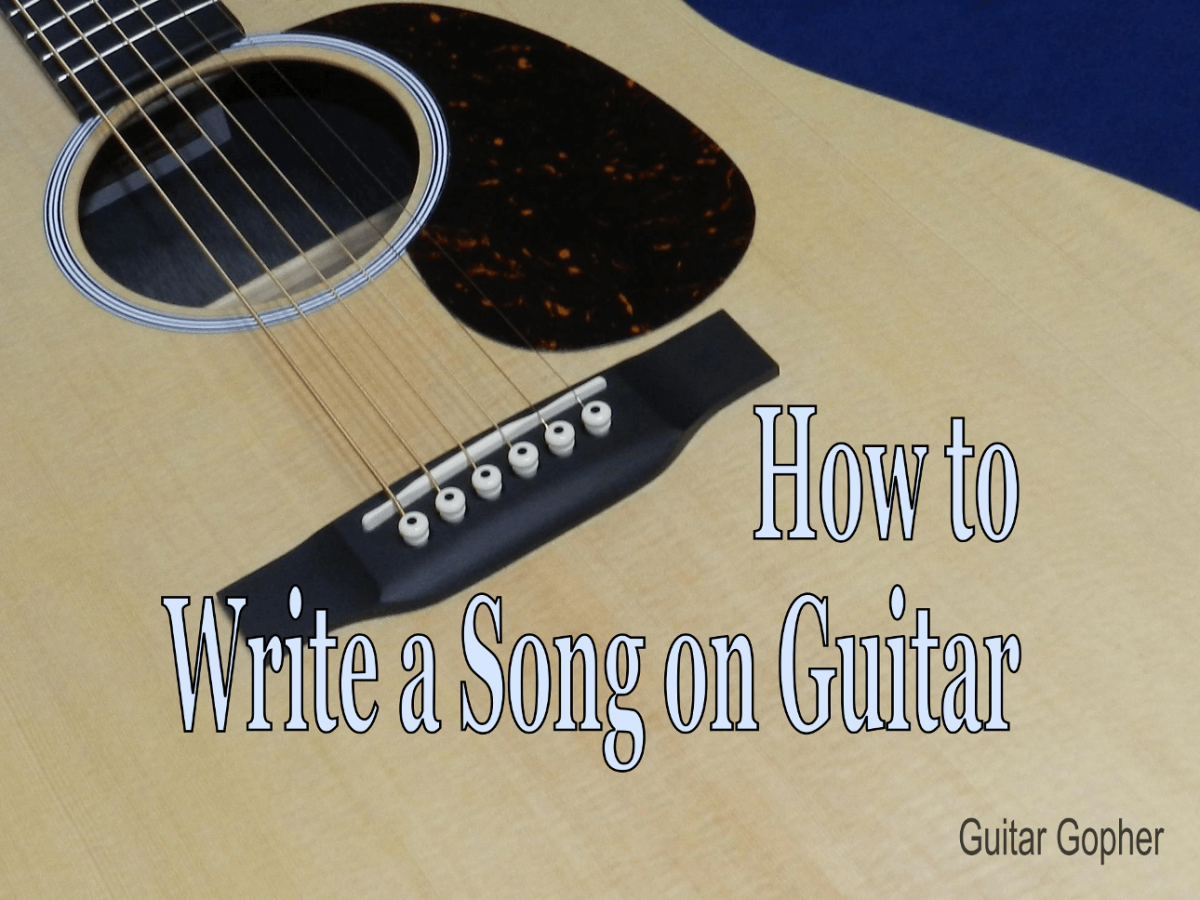 Anyone can write a song, and it doesn't matter if you're a beginner. Pick up your guitar and get started!
