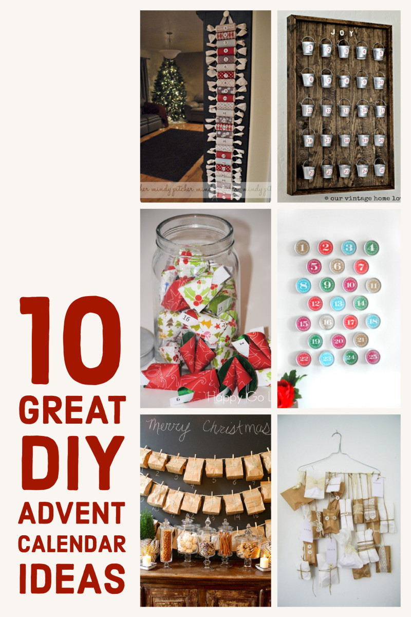 10 Great DIY Advent Calendar Ideas