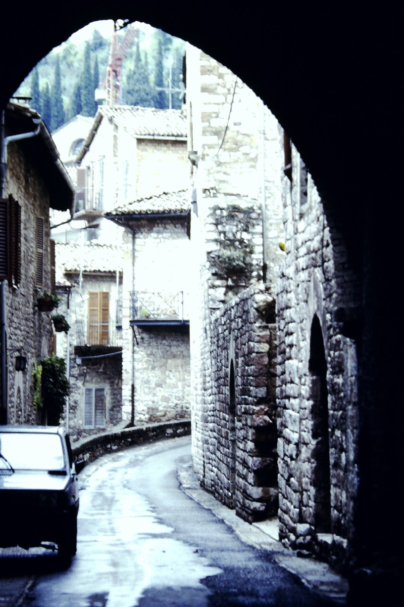 Medieval streets are never far away in Florence (c) A. Harrison