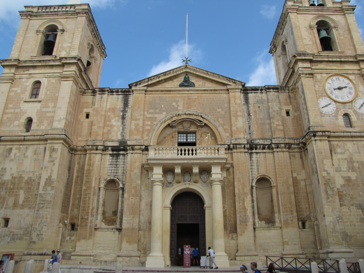 Visiting St John's Co-Cathedral: Valletta, Malta