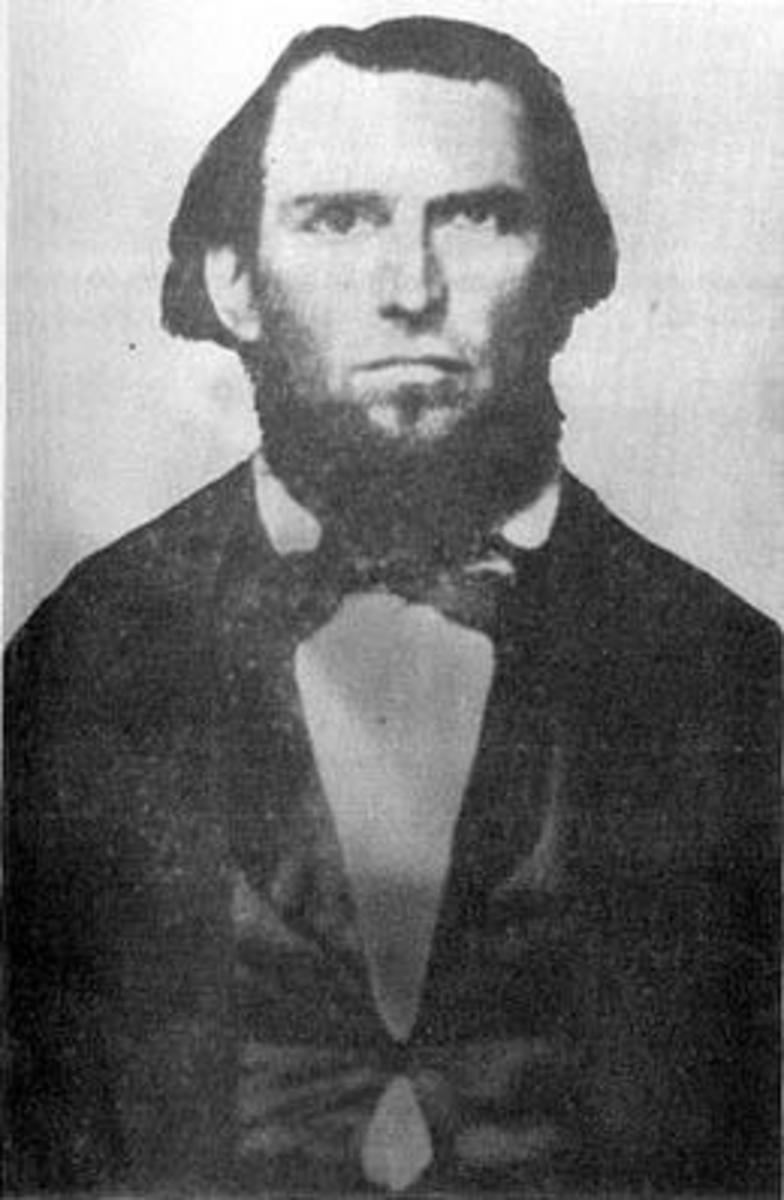 Isaac Neff Ebey, first white settler on Whidbey Island