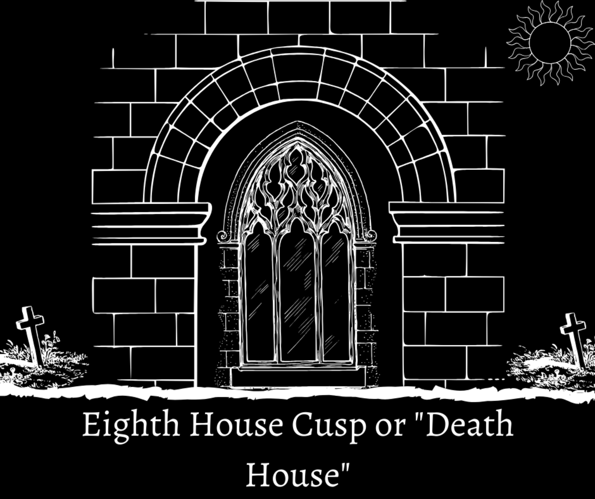 "Read on to learn about the Astrological eighth house cusp or ""Death House."""