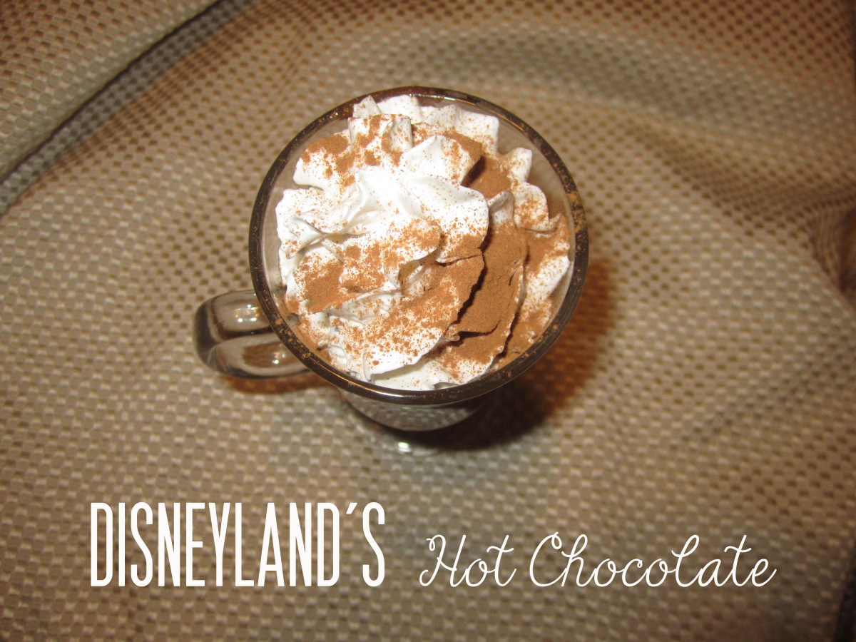 Disneyland's Hot Chocolate