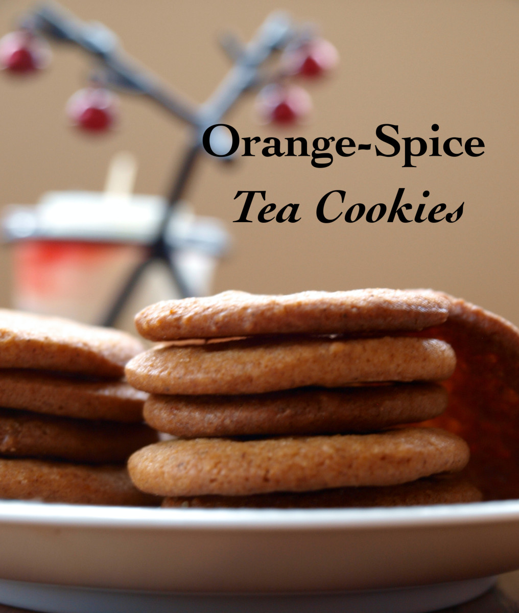 Orange-Spice Tea Cookies Recipe