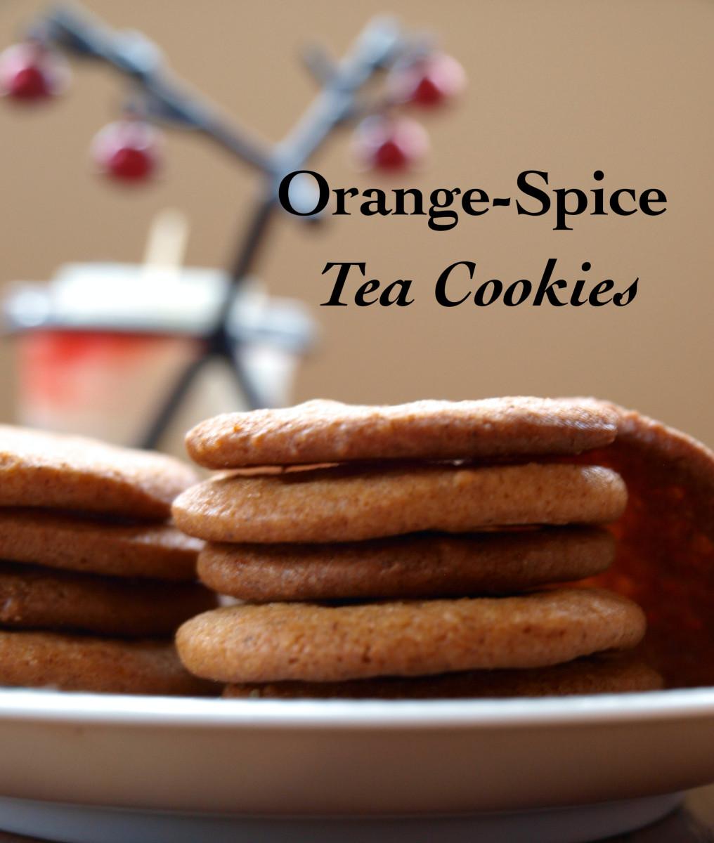 Orange-Spice Tea Cookies Recipe