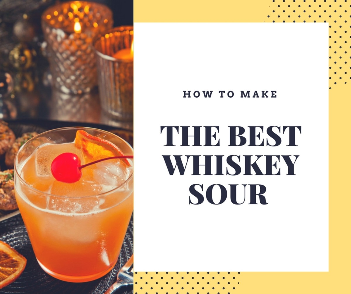 The Best Bourbon Whiskey Sour Recipe | Delishably Planters Punch Welcher Rum on