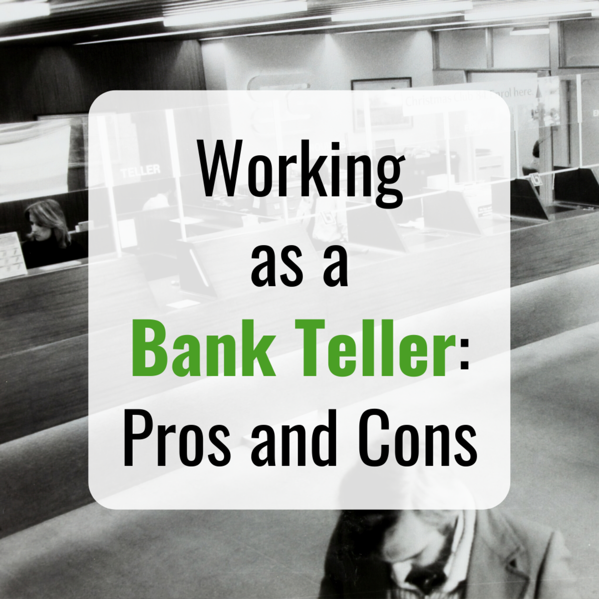 Learn about the career of a bank teller, including pros and cons, job duties, career path, and more.