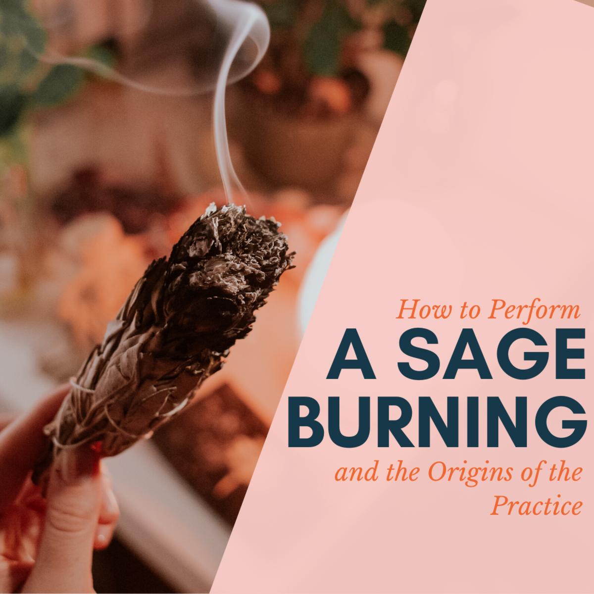 How to Burn Sage