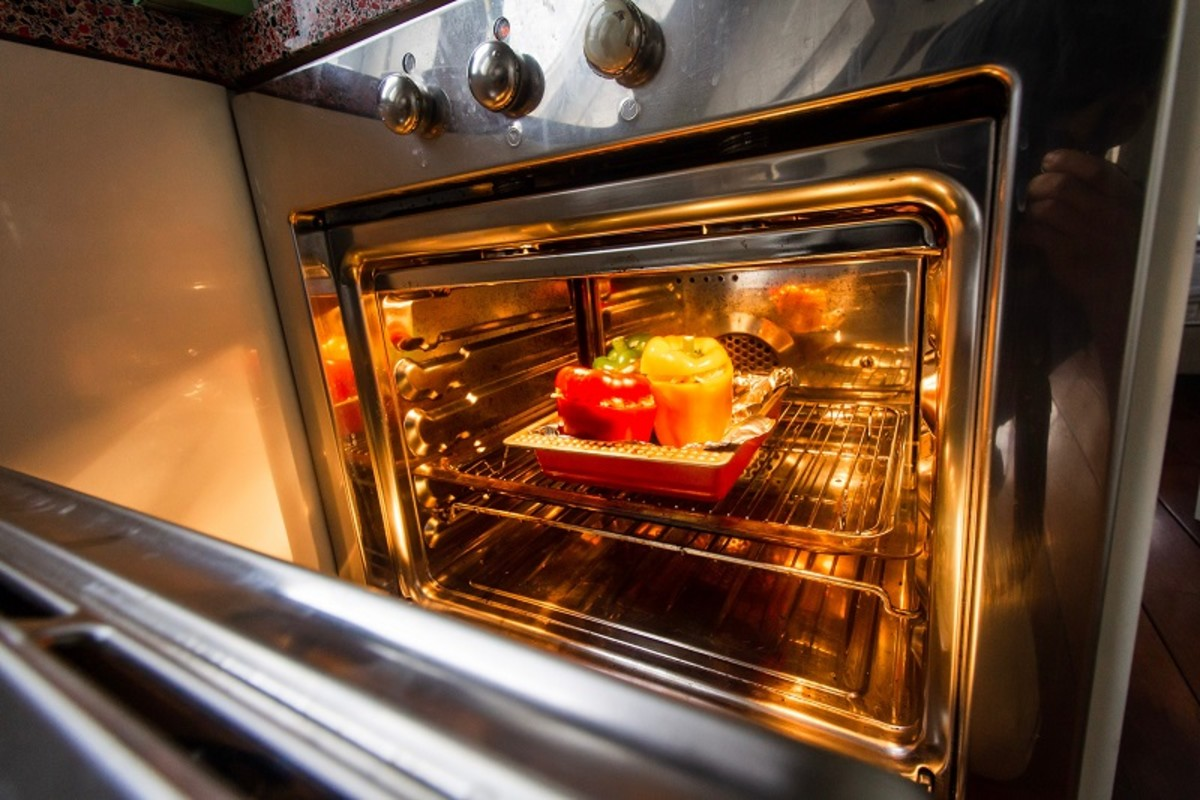 A clean oven is more energy efficient, and helps extend the life of the appliance.