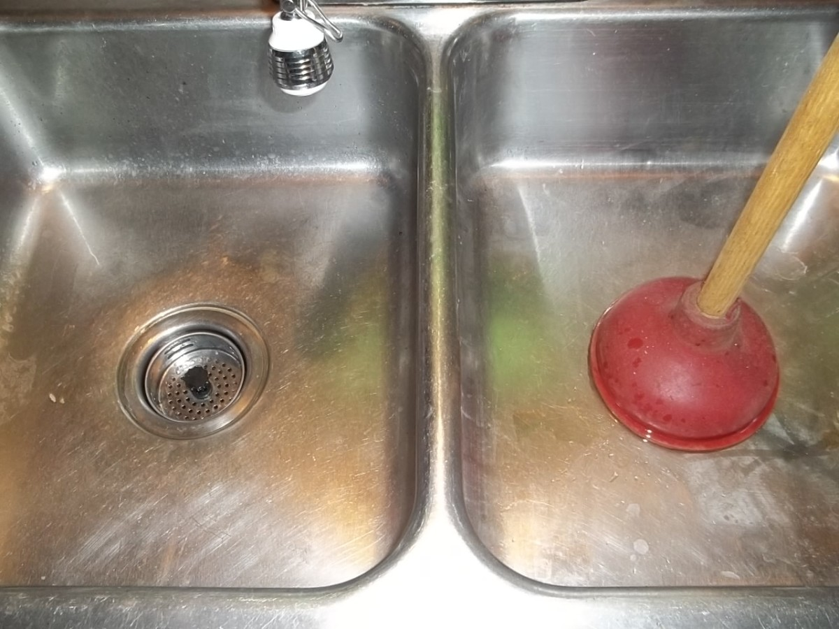How To Unclog A Double Kitchen Sink Drain Dengarden - My kitchen sink is clogged