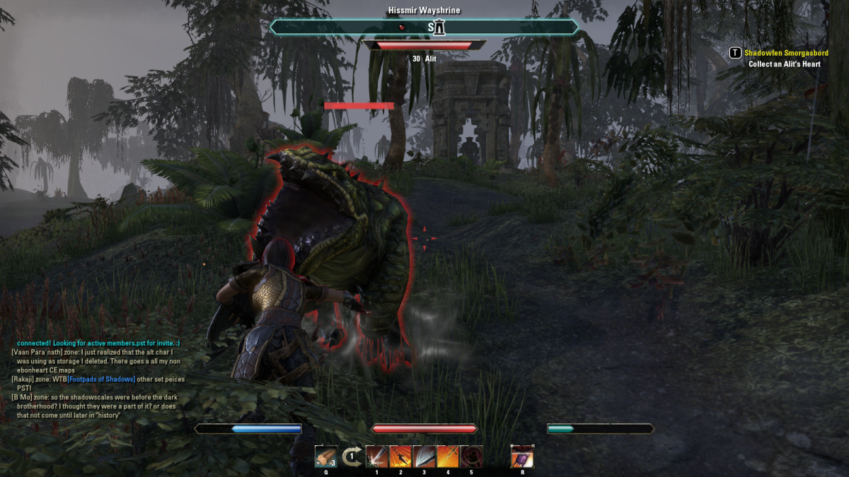 The Elder Scrolls Online Walkthrough - Stormhold: Shadowfen Smorgasbord, Unwelcome Guests