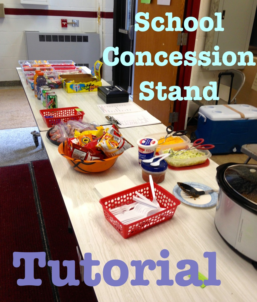 How to Run a School Concession Stand