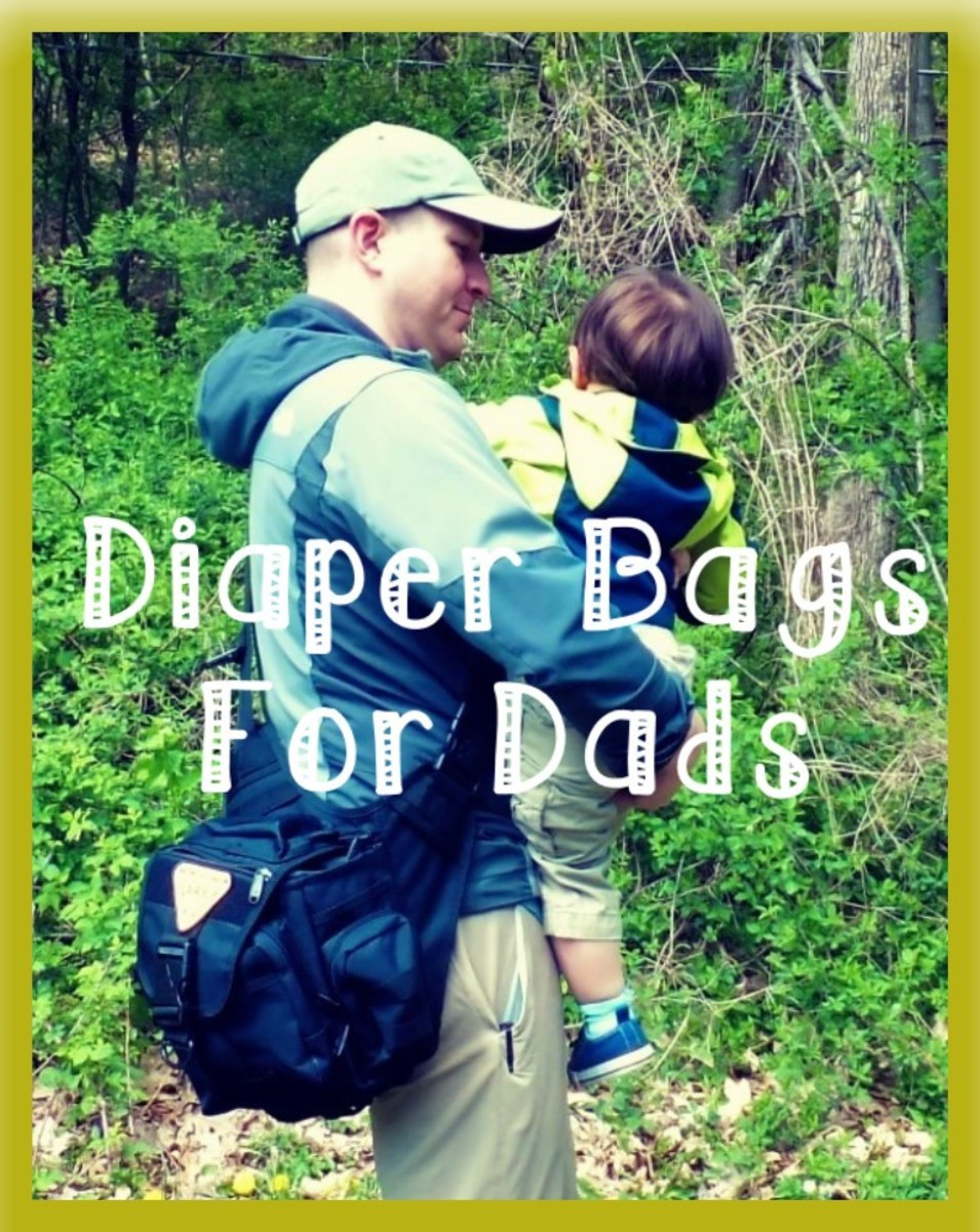 Dads need diaper bags too.