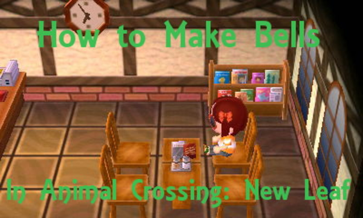 Learn how to make Bells by hitting rocks,  shaking trees, catching bugs and more!