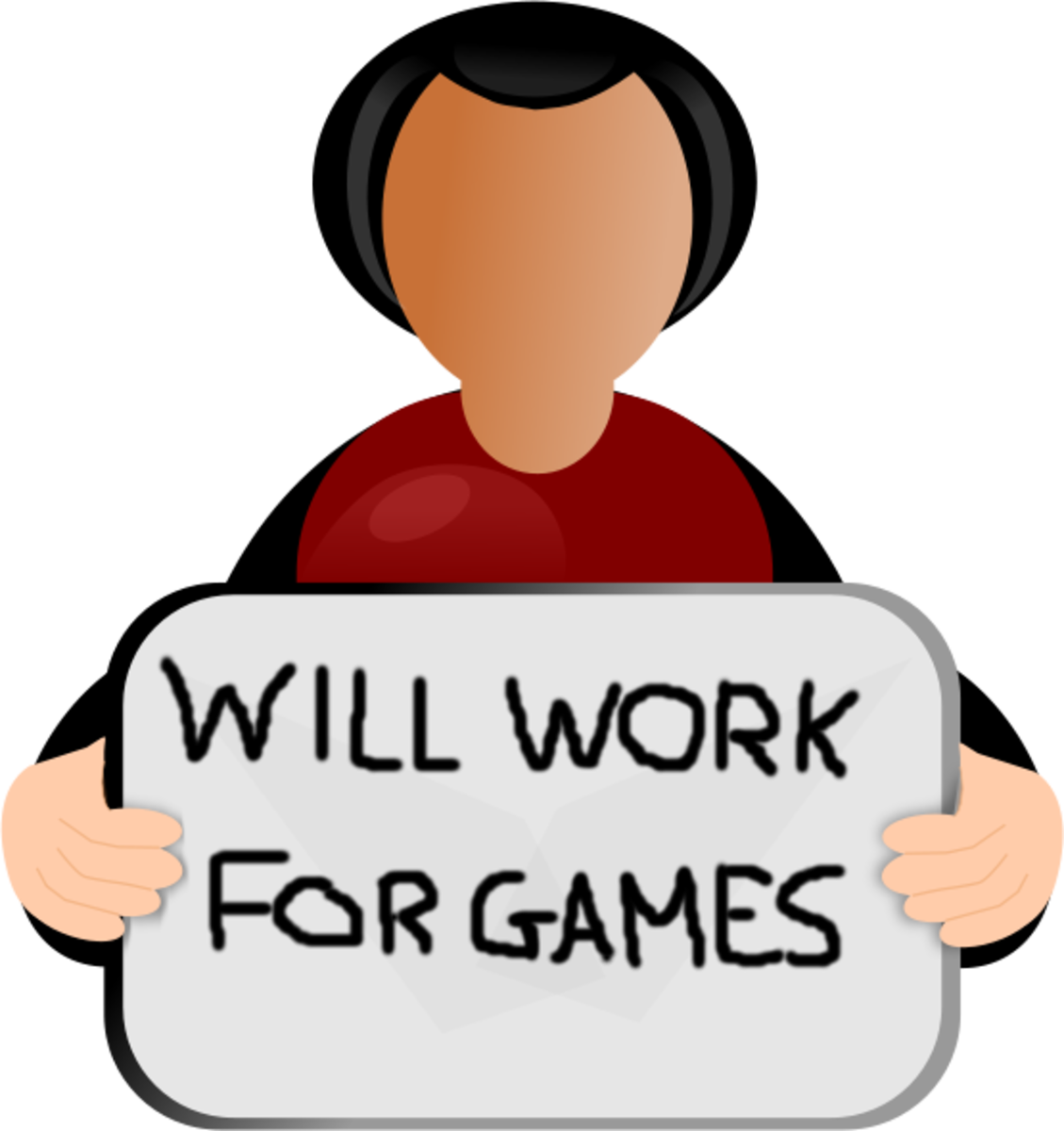 How hard will you work for games?