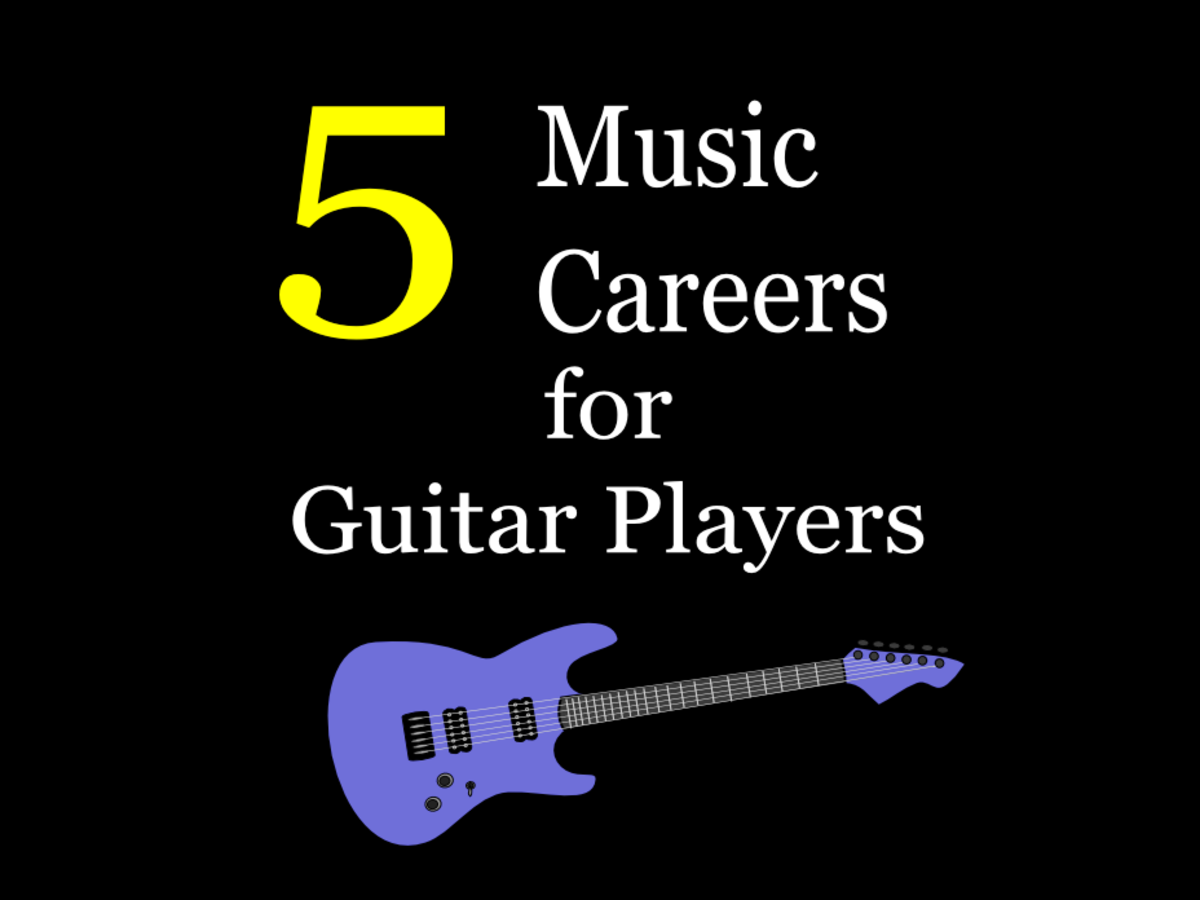 Music careers for guitarists can span various genres and vocations.