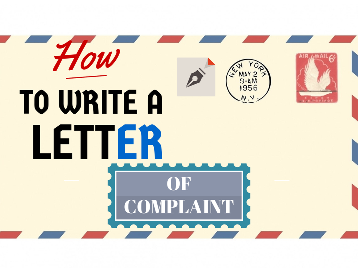 How to write an effective letter of complaint to a company step by how to write an effective letter of complaint to a company step by step and sample letters toughnickel altavistaventures Images
