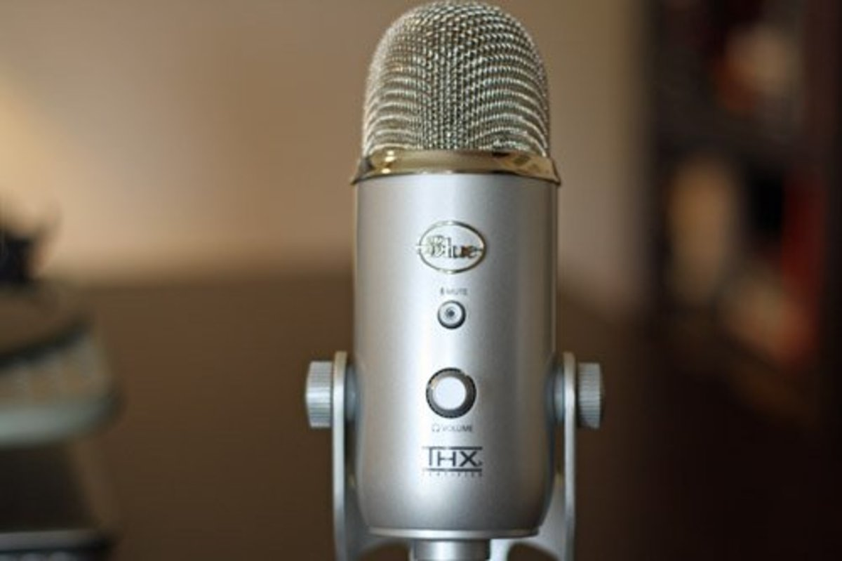 The Popular Blue Yeti Microphone