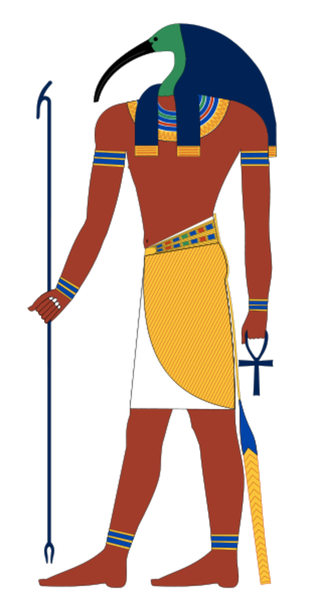 The Egyptian God Thoth Was Believed to Have Written The Emerald Tablets of Thoth the Atlantean