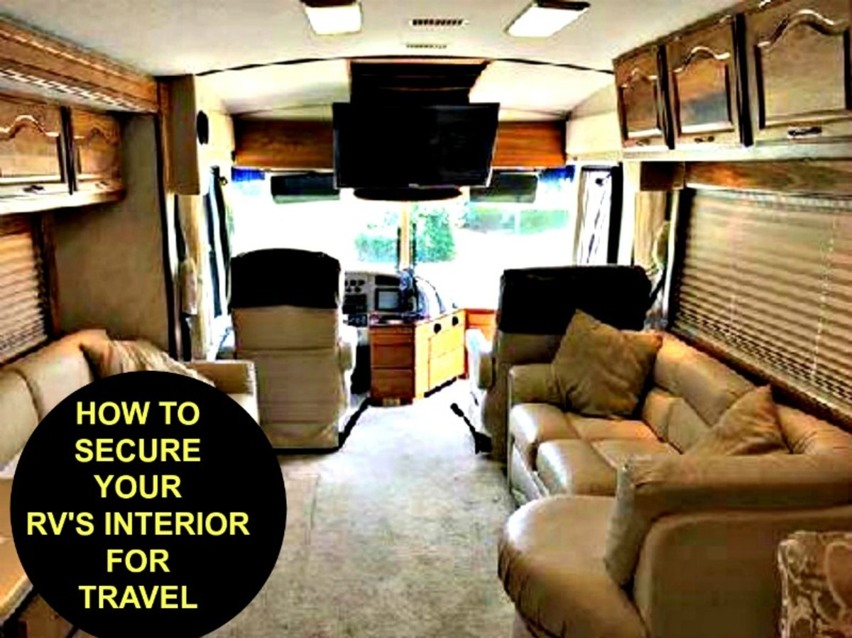 How to Secure Your RV's Interior for Travel