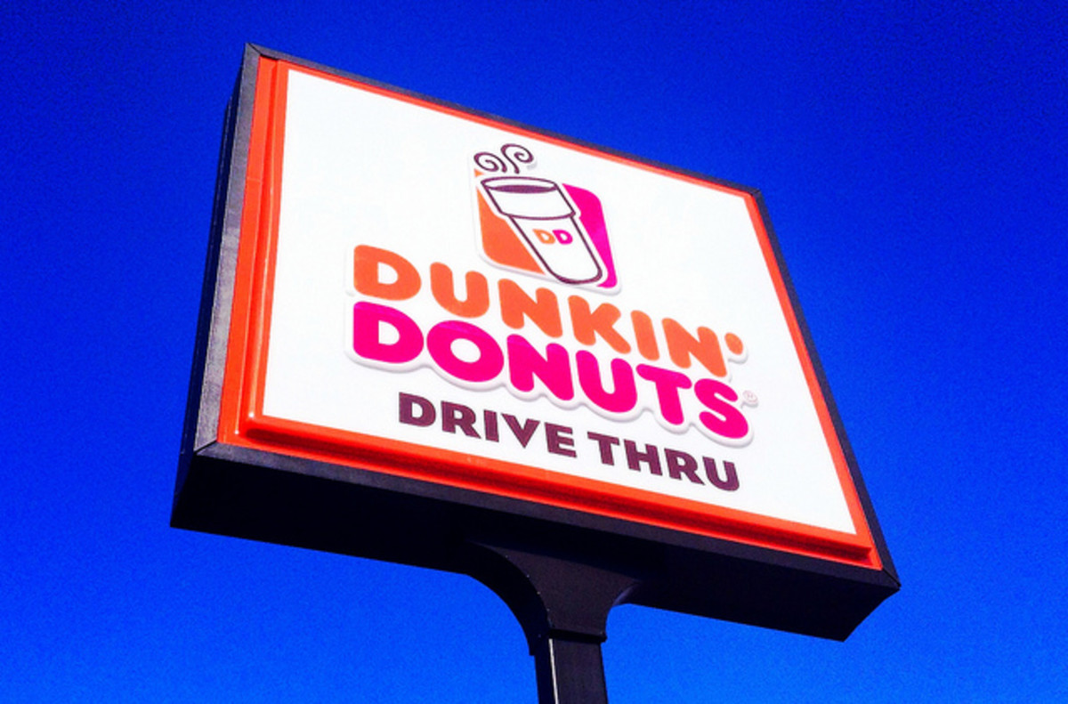 Dunkin Donuts offers many high protein options on its menu.