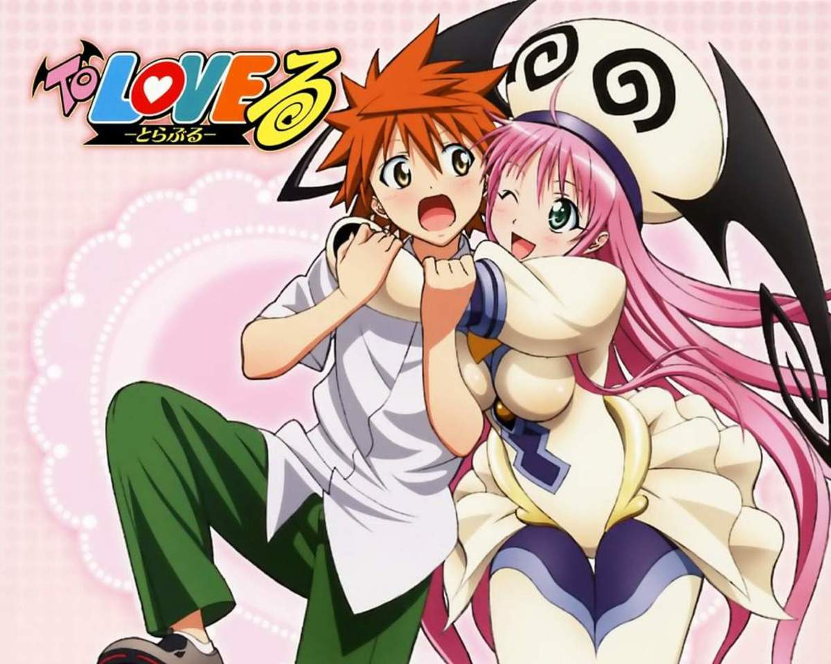 Image result for to love ru anime""