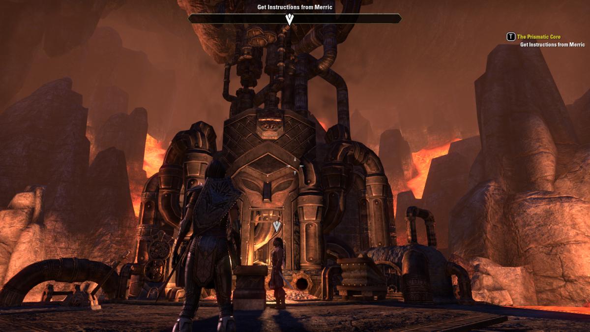 The Elder Scrolls Online Walkthrough - Fighters Guild: The Prismatic Core