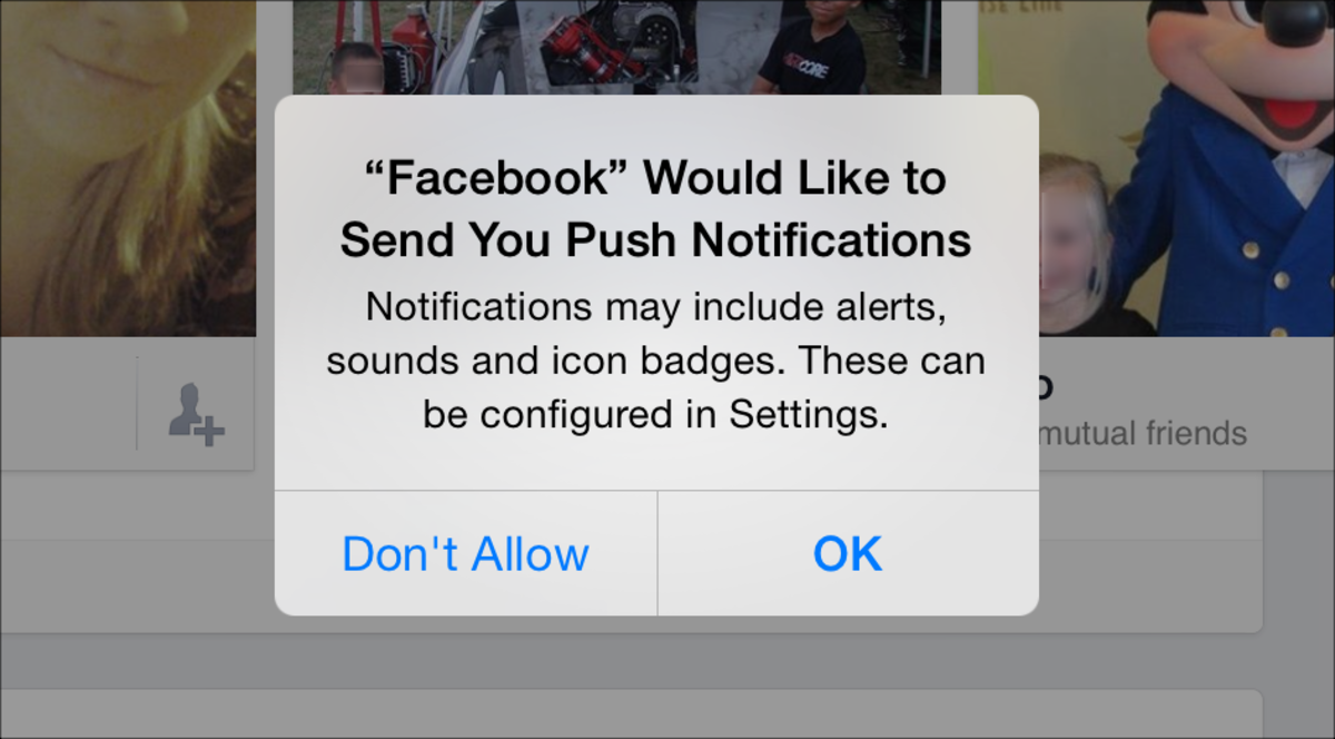 how to turn off do you know facebook notifications
