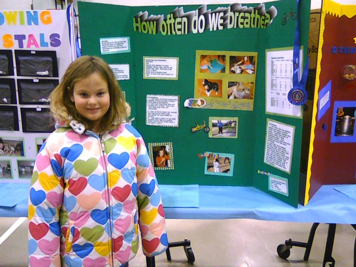 Research science fair project