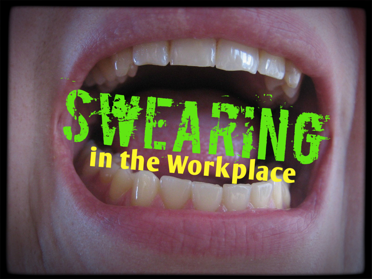 What does swearing in the workplace say about you?  You might be surprised.