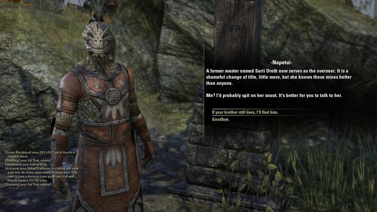 The Elder Scrolls Online Walkthrough - Mud Tree Village: Schism