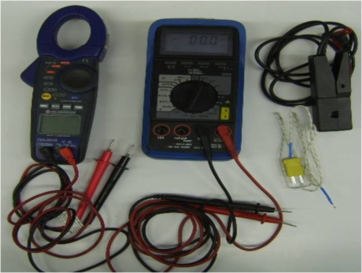Meter Types (DVOMs): Amp Clamp Meter, DVOM and Accessories.