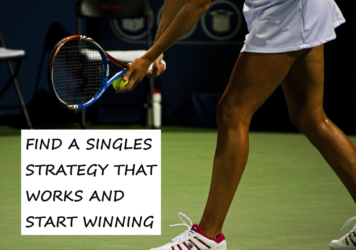 It's important to find the right tennis singles strategy for each match, if you want to win. This article offers tips and ideas drawn from many years of personal experience.