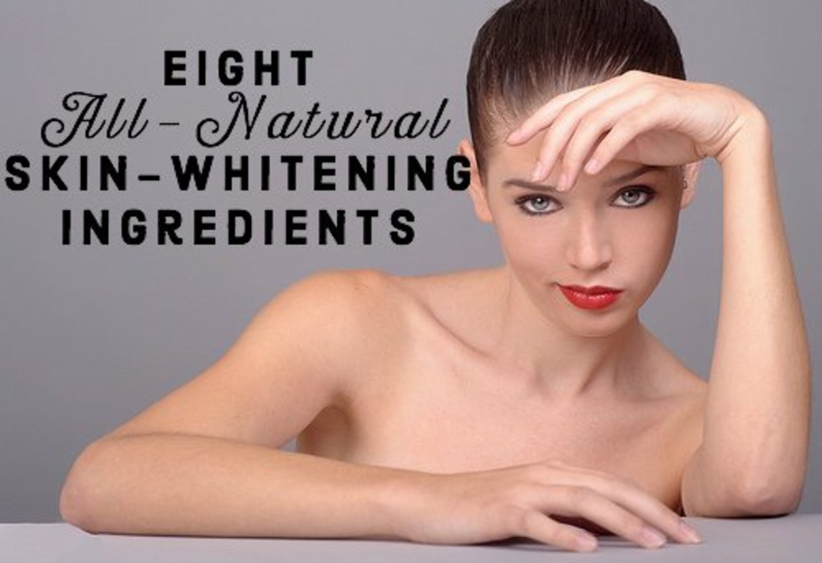 Here is a list of 8 ingredients from nature that are proven to really whiten the skin and offer an alternative to using synthetic products like hydroquinone creams.