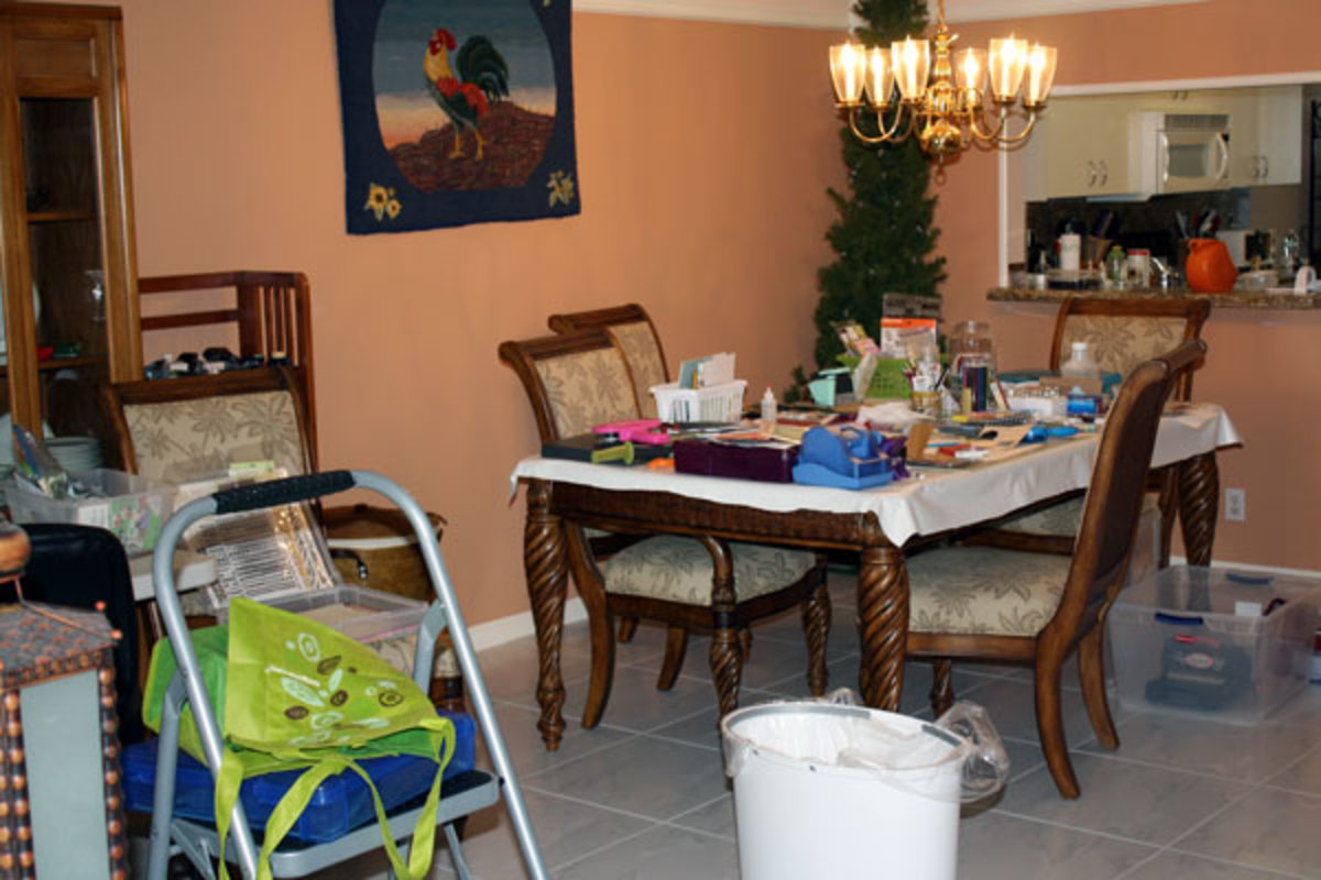 If you have to clean off your dining table in order to eat off it or constantly move things from the bed to the floor to go to sleep at night, you may have a hoarding problem and you aren't alone.