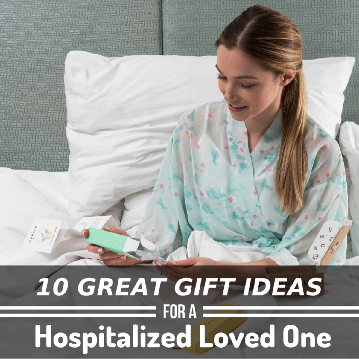 Staying in the hospital can really take a toll on someone. Here are some gift ideas from a practicing nurse to help you cheer them up!