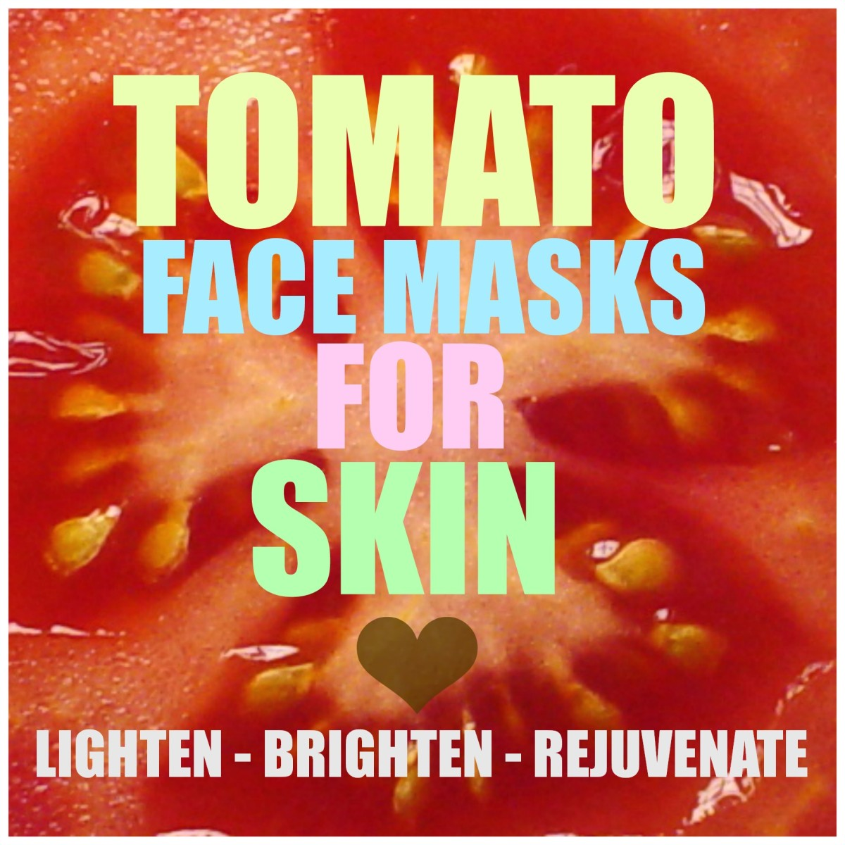 Looking for the best natural skin lightening ingredient without spending a dollar? Tomato face masks will leave your skin feeling rosy, radiant and brighter than ever before!