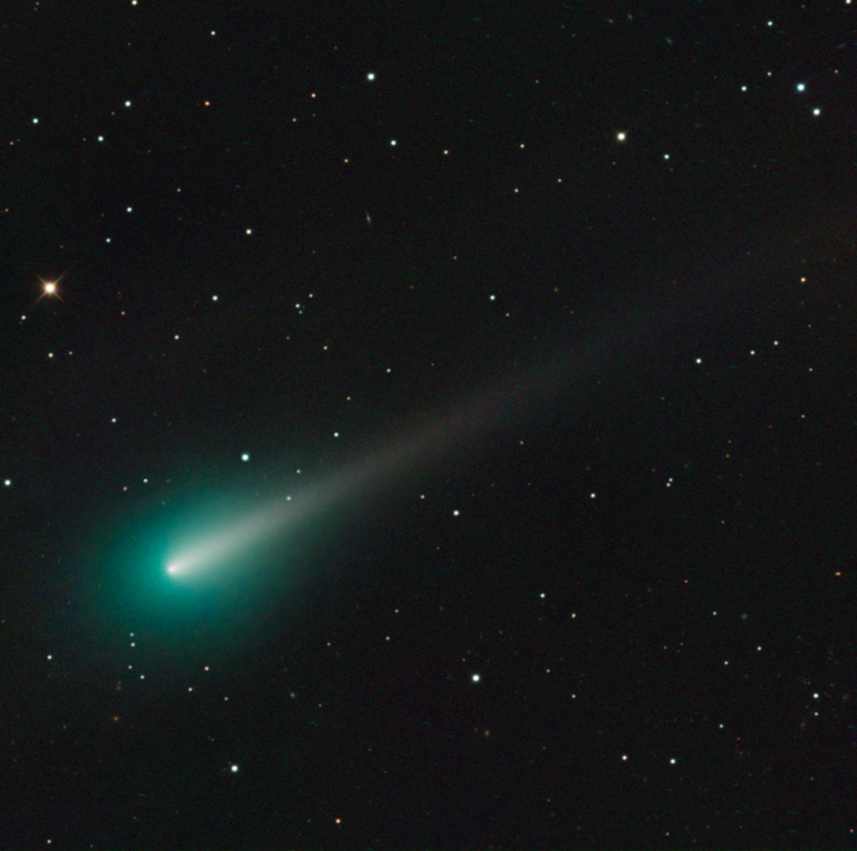 ISON in full glory.