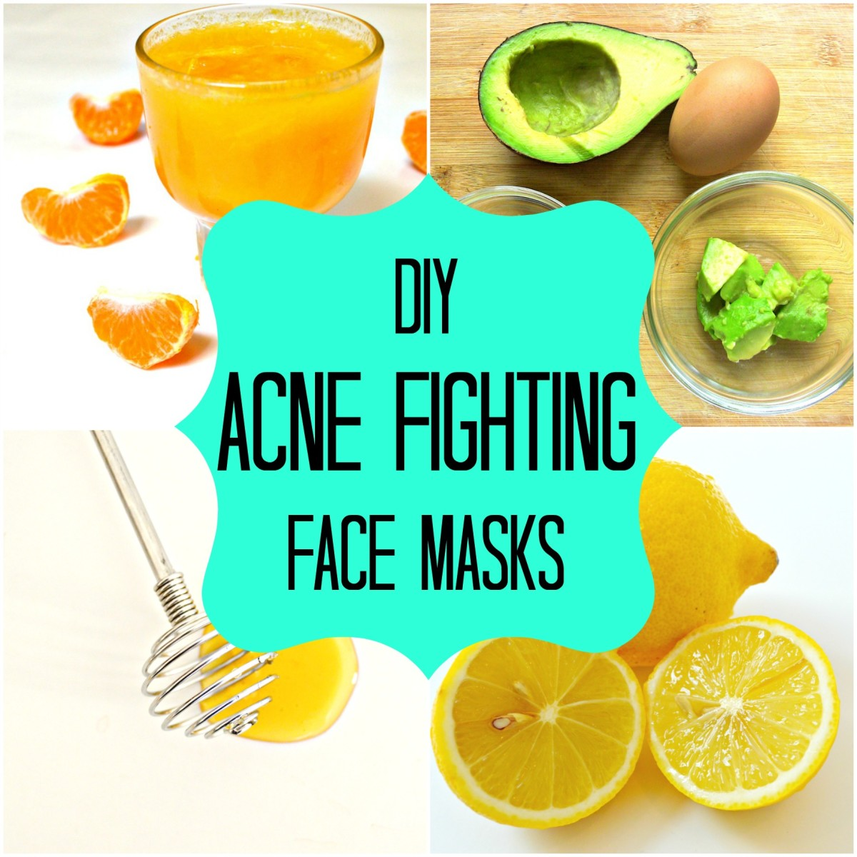 Try out these three face mask recipes at home to fight blemishes, large pores and difficult skin.
