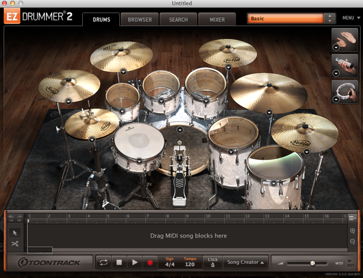 EZ Drummer 2 at a Glance