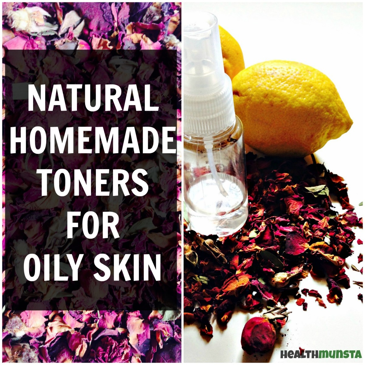 Ditch the chemical toners and make your own homemade natural toner with gentle & safe ingredients.